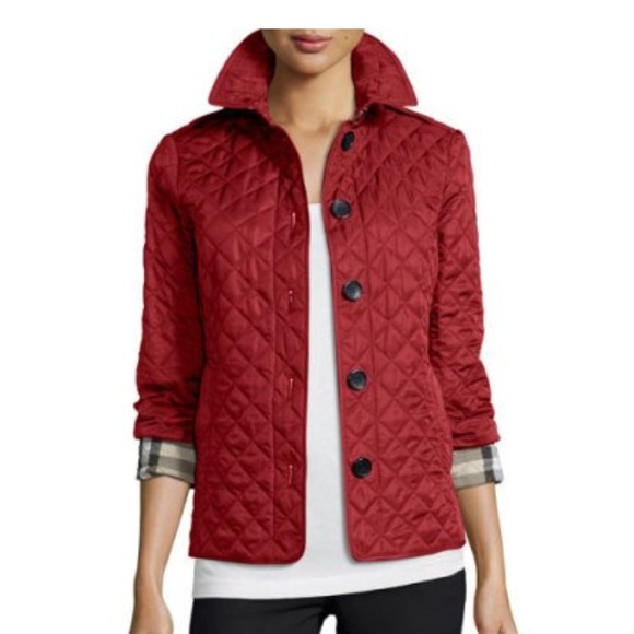 fa548deed Ashurst Classic Modern Quilted Jacket, Parade Red